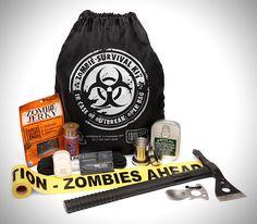 Ultimate Zombie Apocalypse Prevention Kit!
