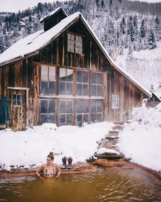 Natural hot springs... can't wait to travel there!  Cresto Ranch at Dunton Hot Springs — Woods & Weaves