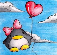 Love Penguin by B-Keks.deviantart.com on @DeviantArt