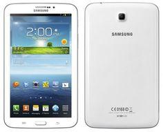 """Samsung Galaxy Tab 3 - 7"""" - 8GB - WiFi - White - SM-T210RZWYXAR"""