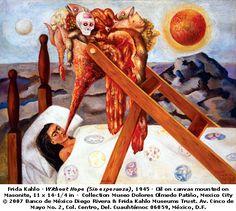 """Frida Kahlo """"Sin Esperanza"""""""