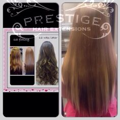 6 months after fitting remy AAAA russian standard Prestige Hair Extensions #keratin bonds #manchester #Stockport