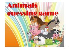 Animals hidden pictures game