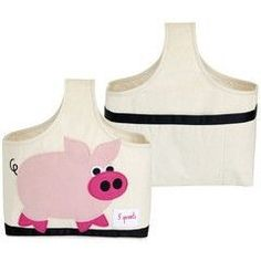 Storage Caddy for lotions, diapers, or small toys! #3Marthas #piggy #babyshower #nursery