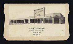 1950s-Swenson-Ford-Lincoln-Mercury-Edsel-Dealership-Philadelphia-PA-Needle-Book