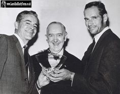 Stan with Charlton Heston and?
