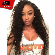 New Arrival Virgin Mongolian Human Hair Full Lace Wigs Afro Kinky Curly Lace Front Curly Wigs For Black Woman Bleached Knots