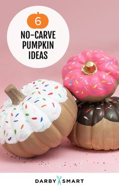 Easy No Carve Pumpkins that Make the Best Halloween Decorations