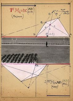 Maurice Tabard, Constructivist collage c. 1950