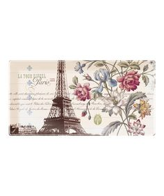 Look what I found on #zulily! 'La Tour Eiffel' Medium Long Tray by Fringe Studio #zulilyfinds