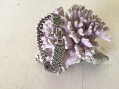 Excited to share the latest addition to my #etsy shop: Sterling Silver Marcasite Chevron Link Bracelet / Whale Tails / Art Deco Style / Vintage http://etsy.me/2D2p4iZ #jewelry #bracelet #silver #women #box #marcasitebracelet #sterlingmarcasite #vintagemarcasite #statem