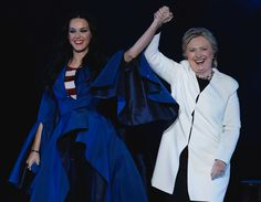 Many celebrities could've modeled Katy Perry's footwear line, but Hillary Clinton was a shoe-in. (Photo: Julio Cortez, AP)    Hillary Clinton is getting a kick out of a certain pair of pink heels from Katy Perry's shoe line.  The singer posted a picture of Clinton wearing... http://usa.swengen.com/hillary-clinton-models-millennial-pink-heels-for-katy-perrys-shoe-line/