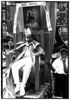 Brooklyn Sunday School Parade.    Photograph by William Gedney, Brooklyn, 1967