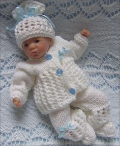 Dolls Knitting Pattern  Download PDF by PreciousNewbornKnits