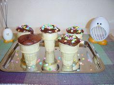 La receta de la torta en el cono de helado - Todos caliente