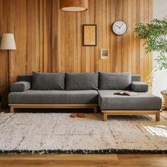 Diy Furniture Couch, Diy Sofa, Home Decor Furniture, Furniture Design, Do It Yourself Sofa, Wooden Sofa Set Designs, Zen Interiors, India Home Decor, Living Room Entertainment Center
