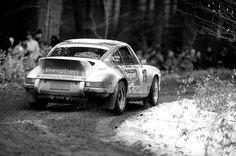 Porsche 911 rallying