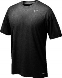 NIKE LEGEND DRI-FIT SHORT SLEEVE TEE WOMEN/'S PINK//GREY US SIZE LARGE NEW W// TAGS