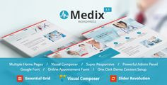 Medix - Health and Medical WordPress  -  https://themekeeper.com/item/wordpress/medix-health-medical-wordpress