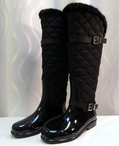 Fulton Quilted Rain Boots | Michael kors fulton, Rain boots and Red