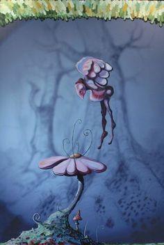 Galleri Graff - Blomsterengel av Tor Rafael Raael Random, Art, Art Background, Kunst, Art Education