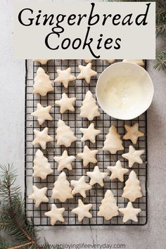 35 minutes · Vegetarian · Serves 50 · Try this homemade Christmas gingerbread cookies recipe. I made them with my kids and we used the star and tree cookie cutter, we made a simple royal icing and decorated the cookies with sprinkles… More Best Christmas Cookies, Christmas Gingerbread, Homemade Christmas, Gingerbread Cookies, Holiday Baking, Christmas Baking, Christmas Crafts, Merry Christmas, Ginger Bread Cookies Recipe
