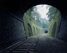 "In his wonderfully eerie photo series ""By the Silent Line,"" French photographer Pierre Folk documents the Chemin de fer de Petite Ceinture (Little Belt Railway), an abandoned railway in Paris. Work..."