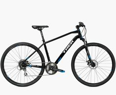 Discover your next great ride with Dual Sport 2 Women's. See the bike and visit your local Trek retailer. Shop now! Dual Sport, Sport 2, Trek Bikes, Bike Urbana, Bici Fixed, Double Usage, Fitness Motivation Photo, Adult Tricycle, Bicycle Rims