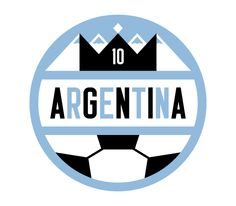 """""""Argentina"""" by Trevor Basset // part of """"The Everywhere Project"""" luggage labels collaborative series"""
