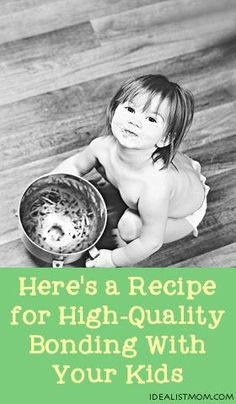 here's a recipe for high-quality bonding with your kids - thanks to @Reena Dasani Drummond | The Pioneer Woman