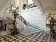 Grand Staircase at the Shangri-La Hotel, Paris