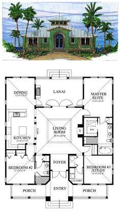 1000 images about florida style homes on pinterest old for House plans florida cracker style
