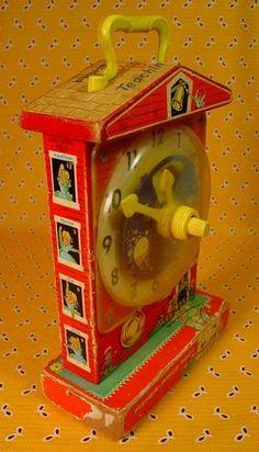 Fisher Price Clock.