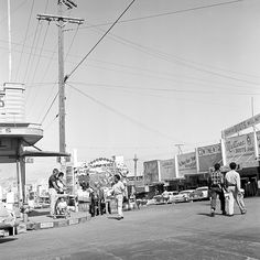 https://flic.kr/p/42VoHc | 063158 09 06C | tijuana, mexico, june 1958  street scene  part of an archival project, featuring the photographs of nick dewolf