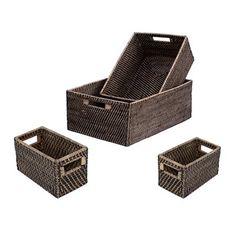 Eco Displayware E6468 Shelf Basket with Squared Corners