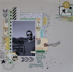 gorgeous page #scrapbooking #layout