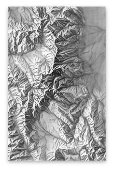 Shaded Relief Archive: Rocky Mountain National Park