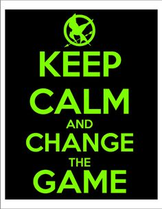 Hunger Games Inspired KEEP CALM printable file by clickableparty, $5.00