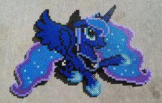 Princesa Luna Perler Bead Art