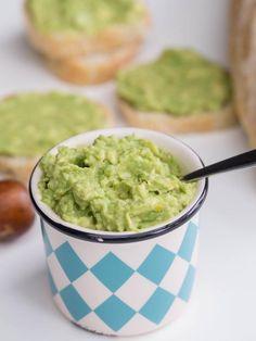 5 Minute Garlic Avocado Spread  Recipe