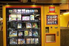 And then we found a lego vending machine...
