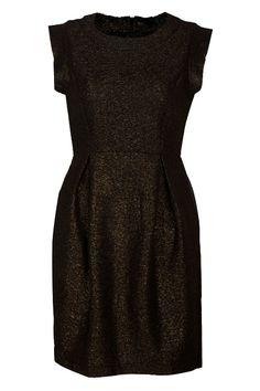 #Romwe | Slim Metallic Bronze Dress, The Latest Street Fashion