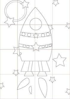 Planets Activities, Space Activities, Activities For Kids, Space Classroom, Classroom Decor, Space Party, Space Theme, Space Coloring Pages, Space Preschool