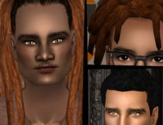 5 ethnic male hairs by nymphy GoS Advent 2012 bundle Whispers In The Dark, Sims 2 Hair, Rose Crown, Picture Boxes, Ethnic Hairstyles, Look At The Stars, Pictures To Paint, Pastel Goth, Dreads