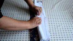 Como fazer canto mitrado duplo | Cantinho do Video Costura em Roupas
