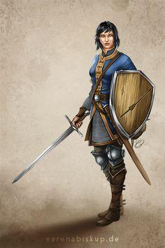 Kriegerin der Nordmarken