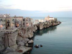 Vieste in the Costa del Gargano (Puglia). Italy.