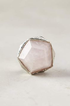 Prismatic Gem Knob from Anthropologie. Pantone colors of the year Serenity Blue and Rose Quartz.