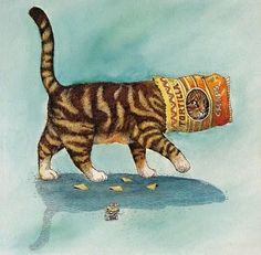 Gary Patterson Art | Cats by Gary Patterson | Gary PATTERSON .Art Illustrations