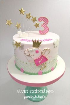Little Ernestina turned 3 and she wanted her favourite character Peppa pig hairy on her cake to celebrate! Pig Birthday, Birthday Cakes, Pig Cakes, Pig Girl, Peppa Pig, Daily Inspiration, Cake Decorating, Baking, Desserts